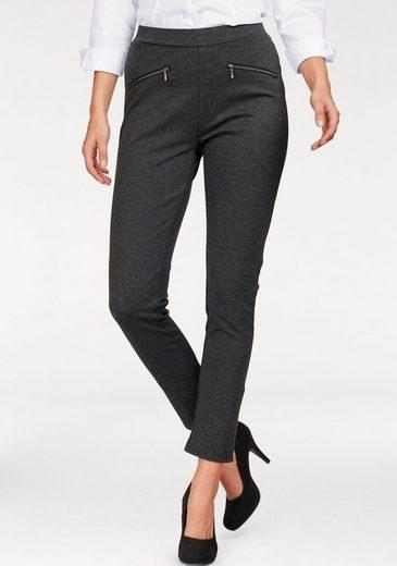 STOOKER WOMEN Leggings, Florida, hoher Bund, schlank am Oberschenkel, aus festem Jersey