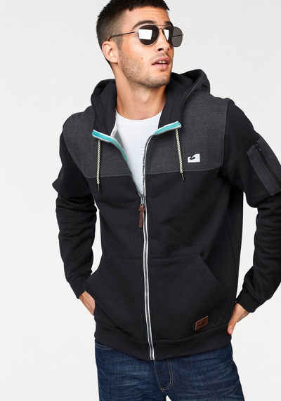Ocean Sportswear Kapuzensweatjacke Innen weich angeraut
