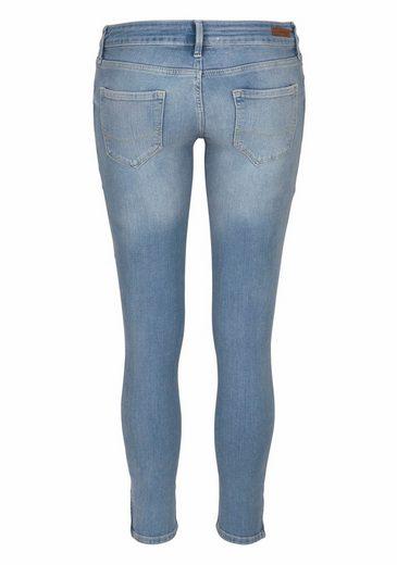 Cross Jeans® Stretch-Jeans 7/8 Giselle, mit kleinem Zipper am Saum