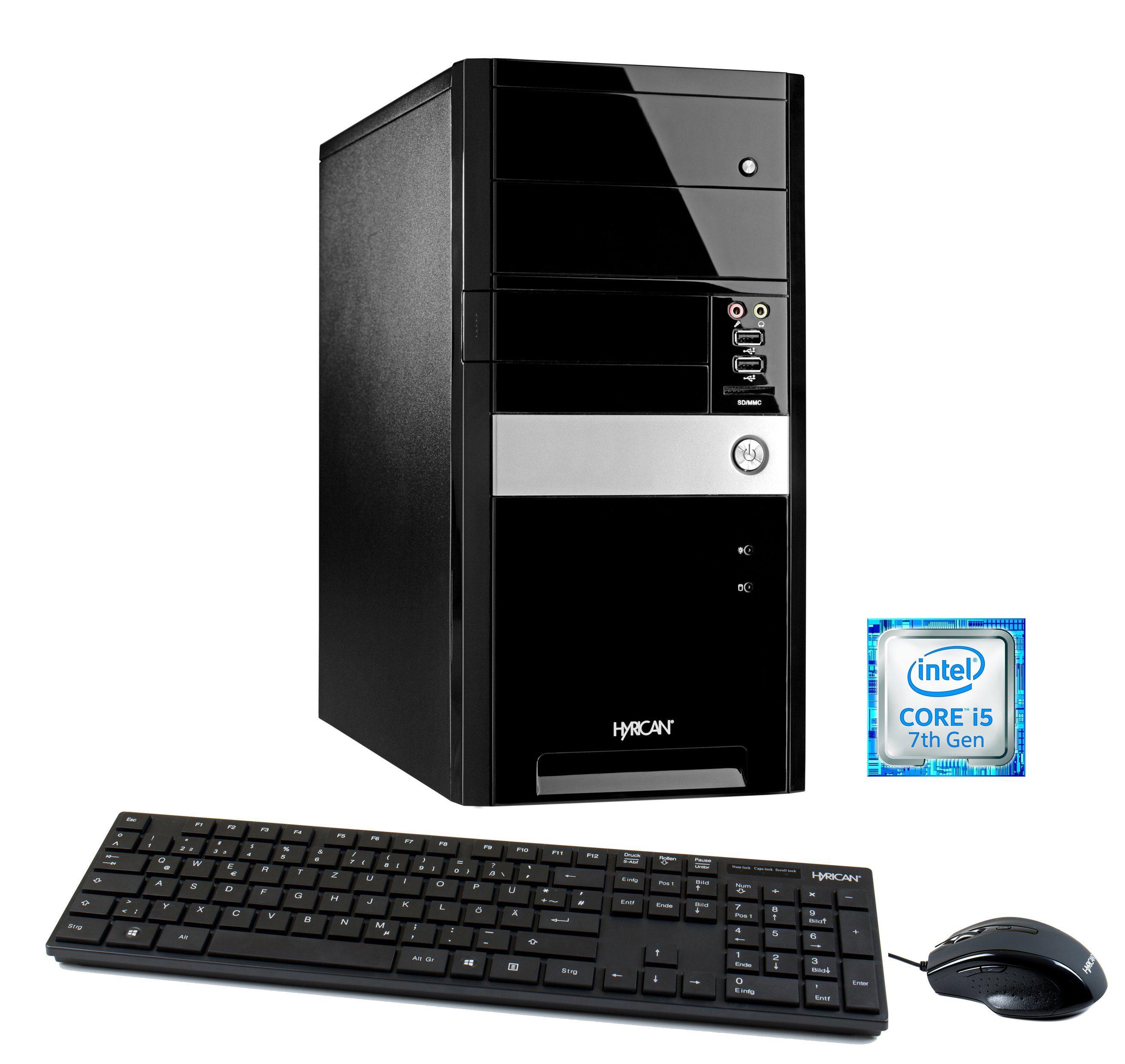 Hyrican Multimedia PC Intel® i5-7400, 8GB, SSD + HDD, GeForce® GTX 1060 »Multimedia PC 5730«