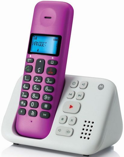 Motorola Telefon analog schnurlos »T311«