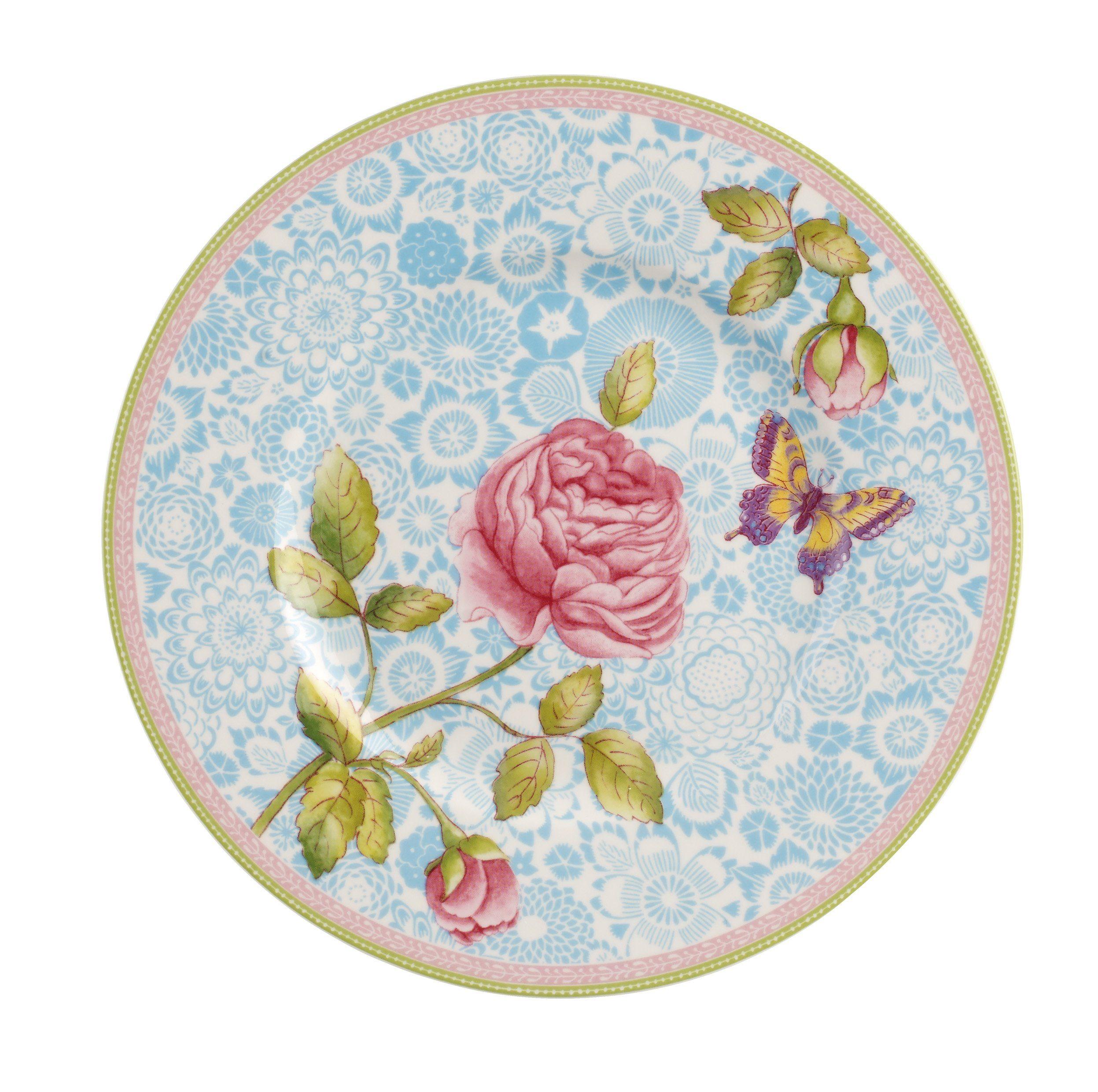 Villeroy & Boch Frühstücksteller - blau »Rose Cottage«