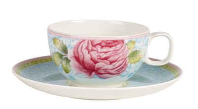 Villeroy U0026 Boch Tee Set Blau 2 Teilig »Rose Cottage«