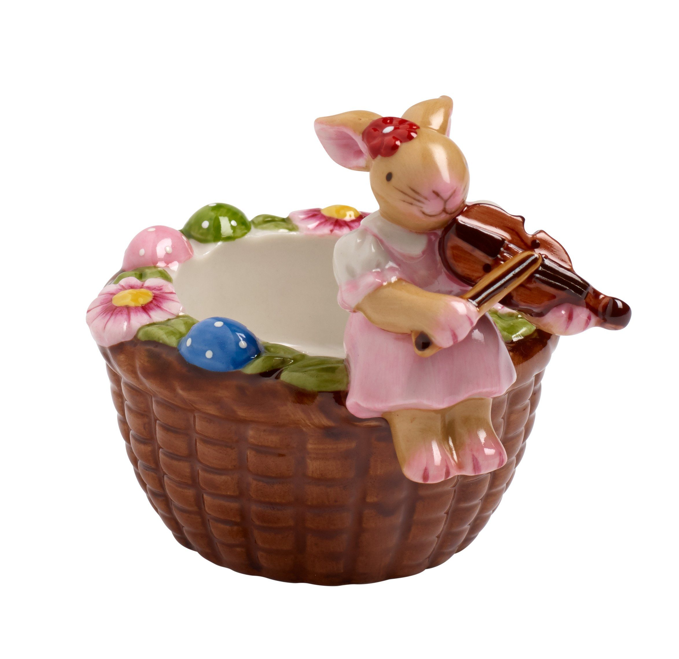 Villeroy & Boch Teelichthalter Korb, Geige »Easter Lights«