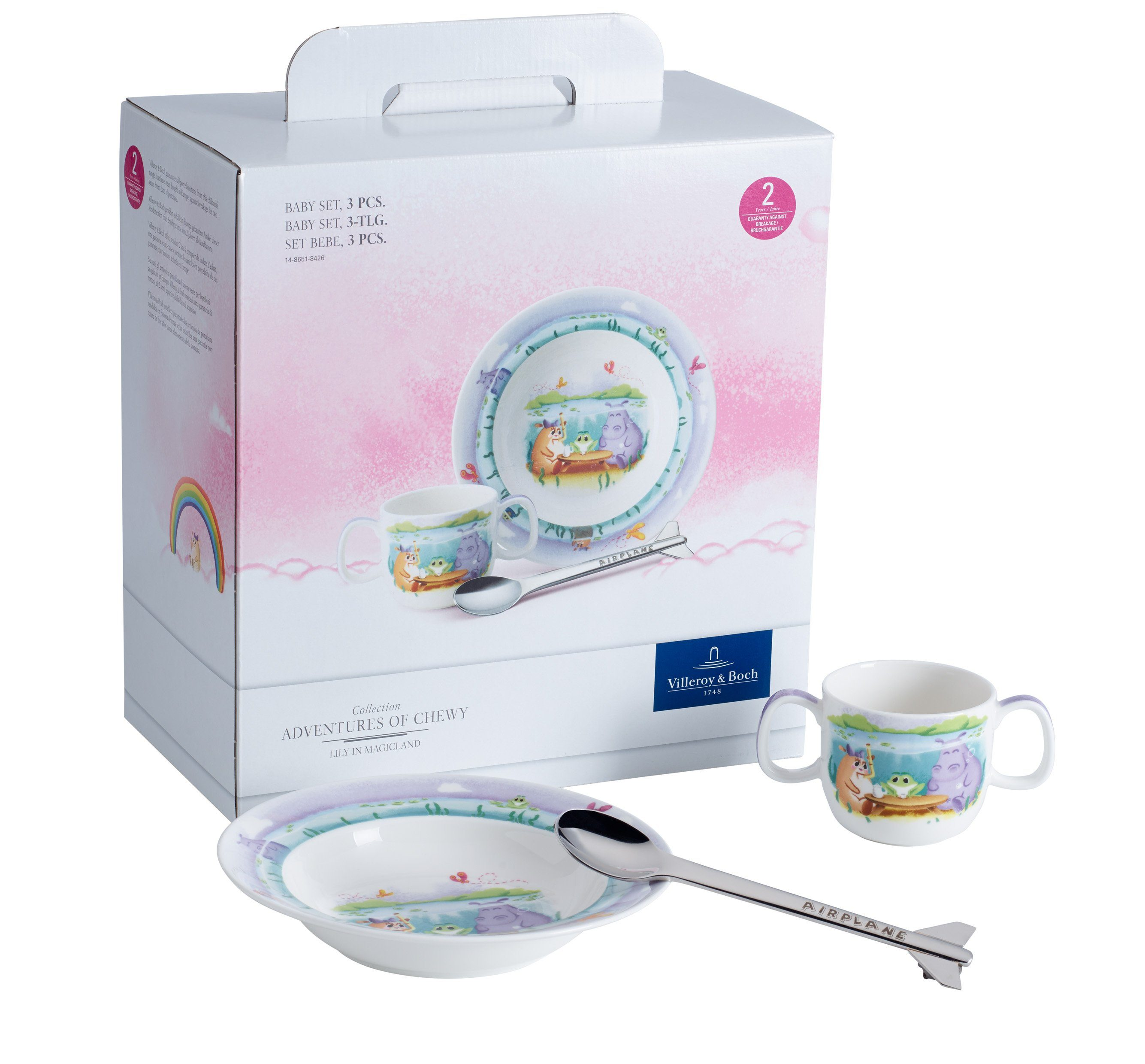 Villeroy & Boch Lily in Magicland Baby-Set 3-teilig Villeroy & Boch »Lily in Magicland«