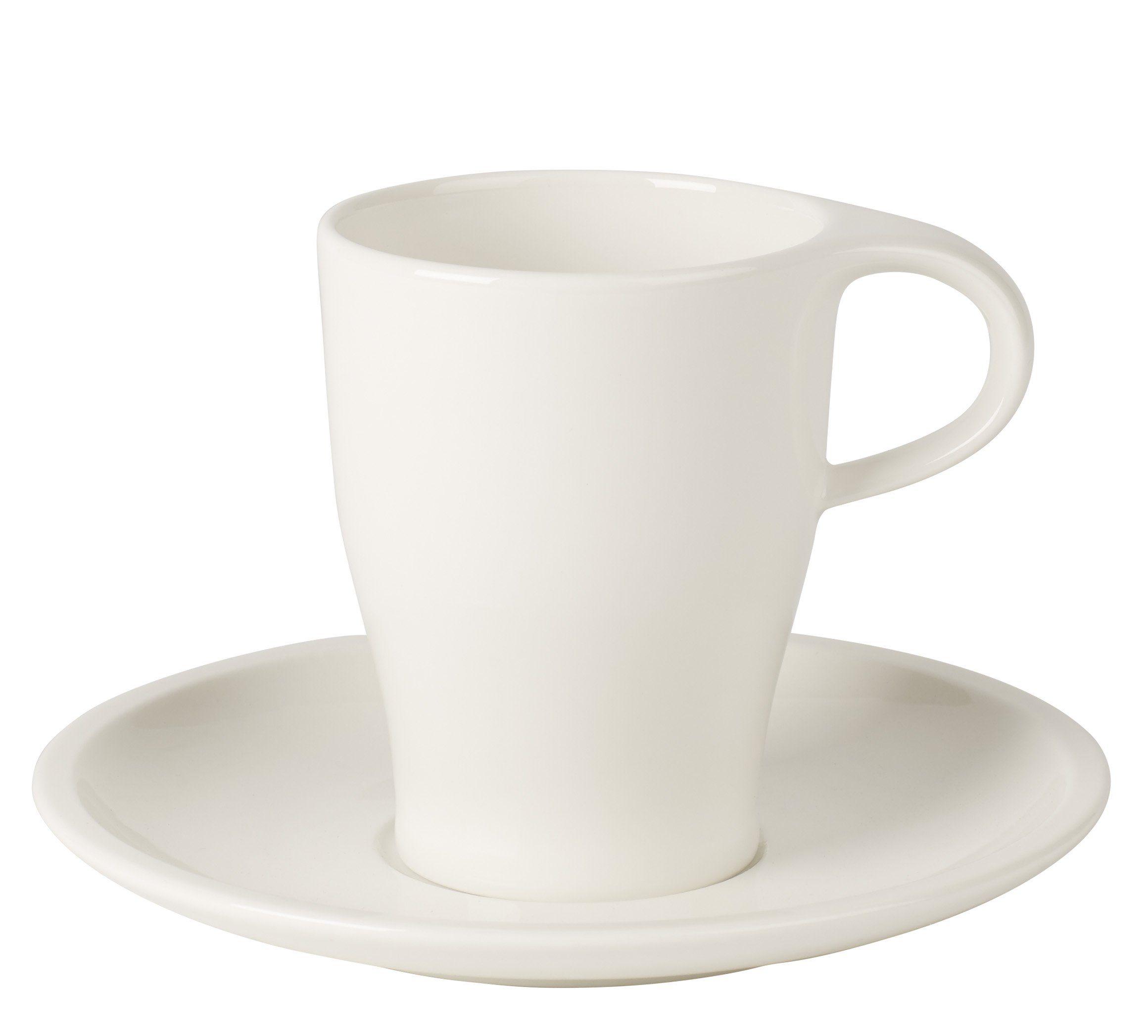 Villeroy & Boch Kaffeetasse mit Untertasse, 2-teiliges Set »Coffee Passion«