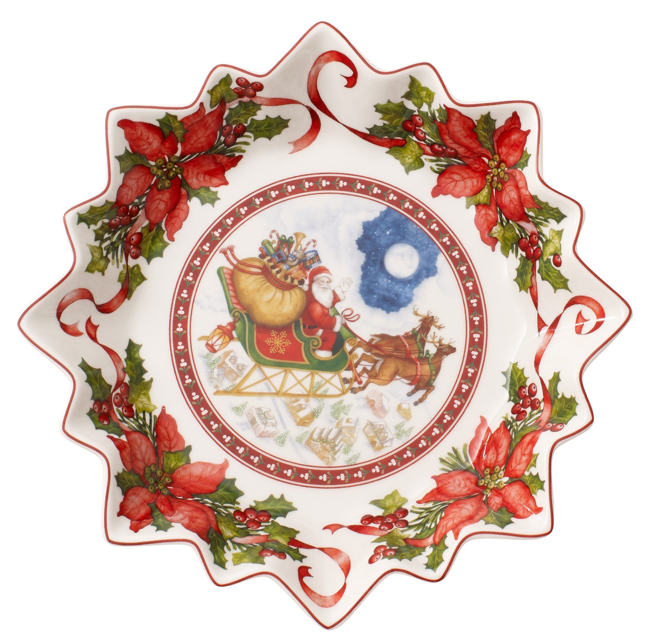 Villeroy & Boch Schale groß, Santas Flug »Toy's Fantasy«