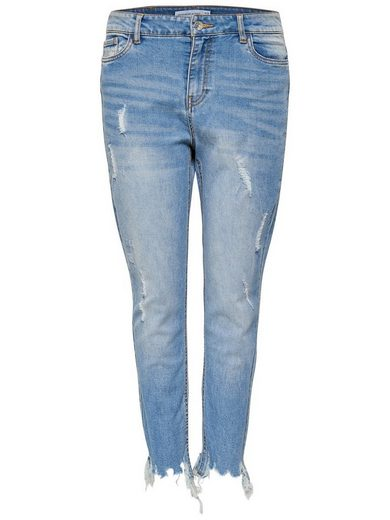 Jacqueline de Yong JDY Albany lockere Knöchel Skinny Fit Jeans