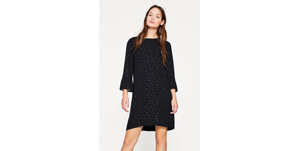 ESPRIT Festliches Kleid mit Allover Sternen-Print Versandrabatt Authentisch Freies Verschiffen Niedrigsten Preis Mode-Stil Online oLXJNS