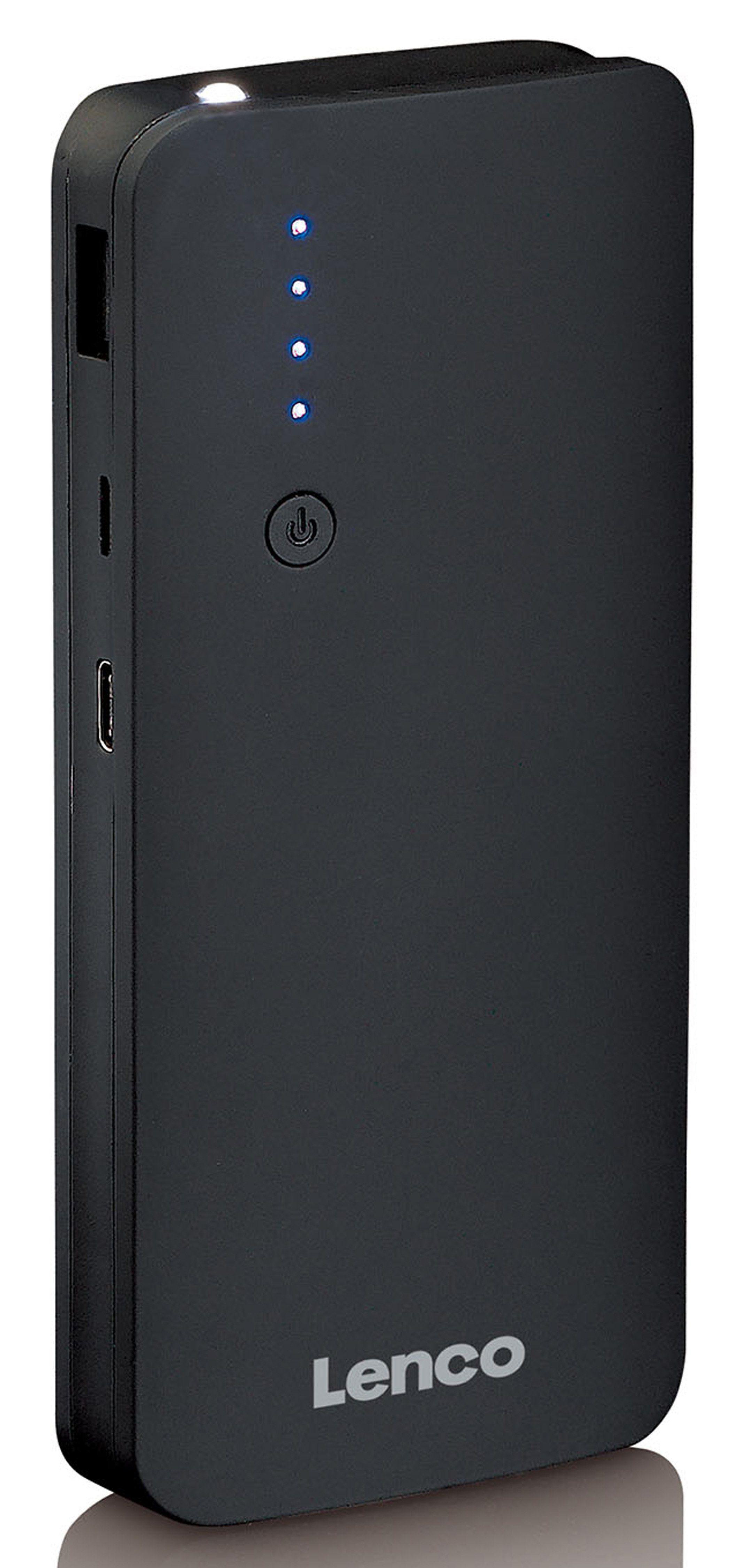 Lenco Powerbank - Akkupack, USB-C und Quick Charge 2.0 & 3.0 »PBQ-1050«
