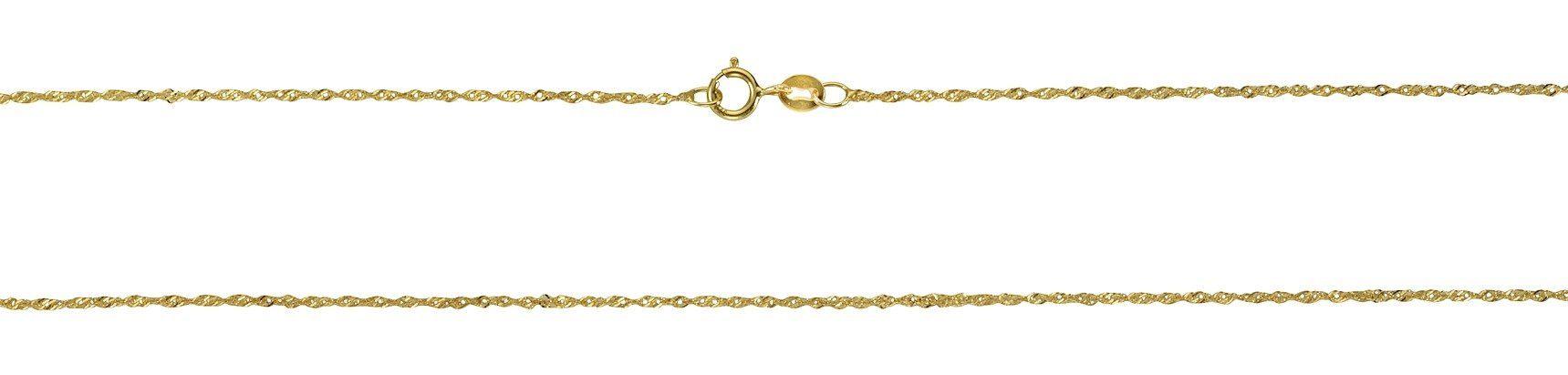 Firetti Collier »585/- Gelbgold Singapurkette 42cm«
