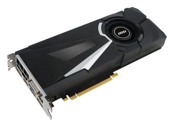 MSI GeForce® GTX 1070 Ti AERO 8G, 8GB GDDR5 »NVIDIA Grafikkarten«