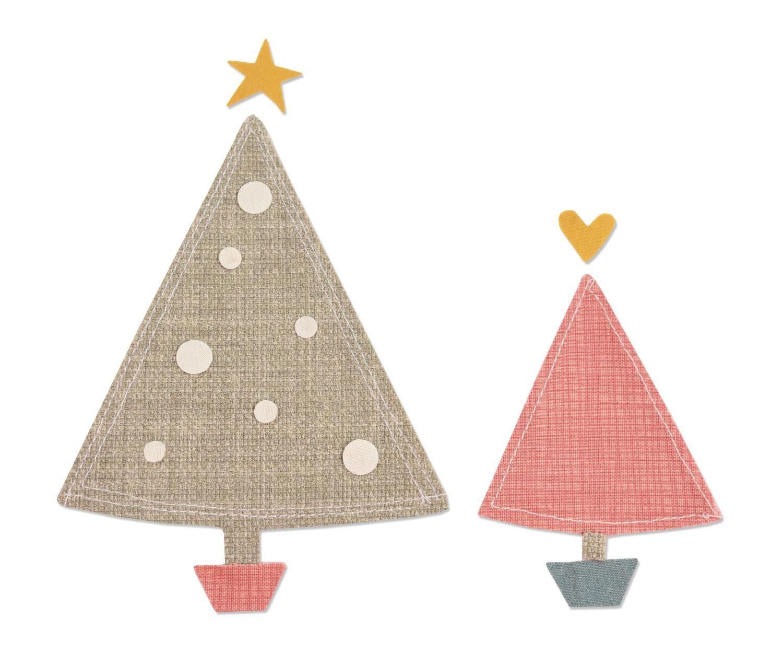 """Sizzix Bigz Stanzschablone """"Oh, Christmas Tree"""""""