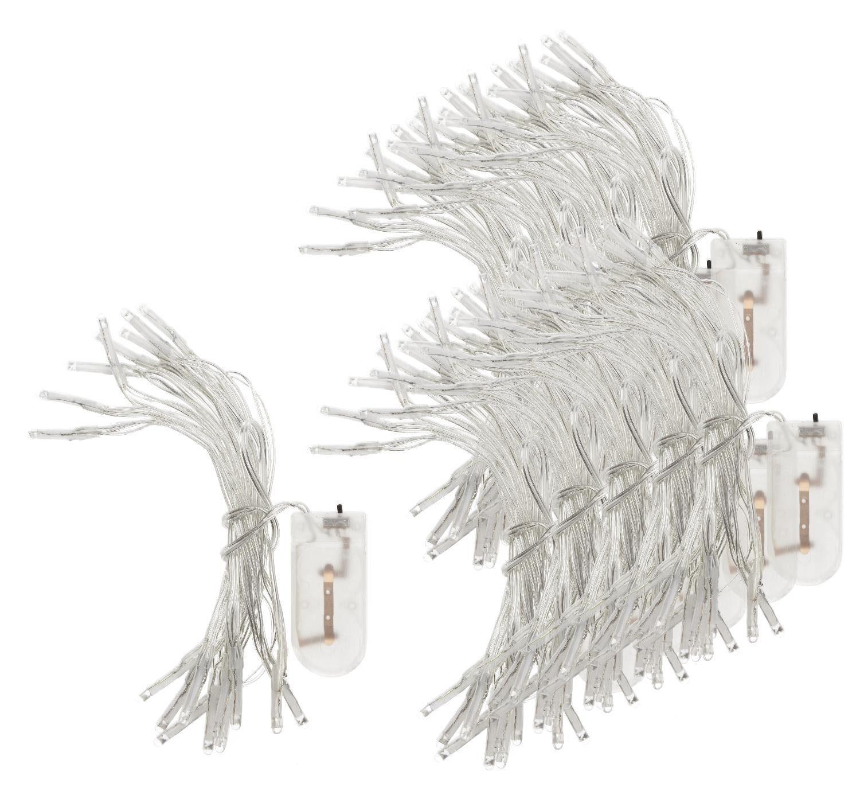 """VBS Großhandelspackung Mini-LED-Lichterketten """"20 LEDs"""" 10 Stück"""