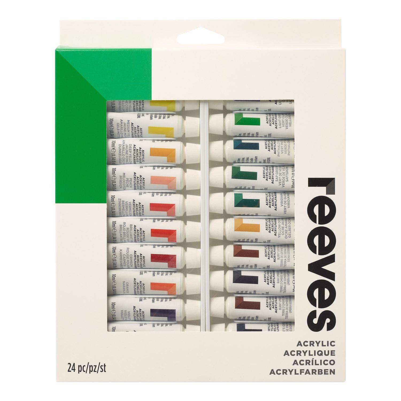 reeves Acrylfarben Set 24 x 10 ml