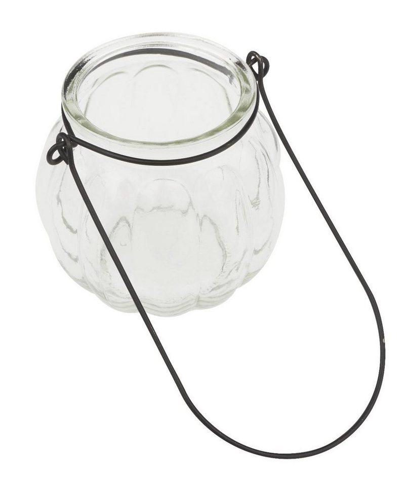 VBS Glas Windlicht mit Bügel 7 7 7 cm hoch kaufen 20261d