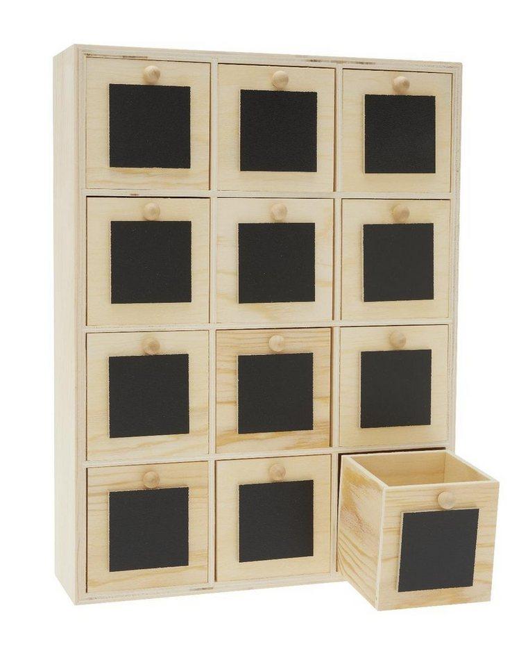 vbs mini kommode tafelfront 12 sch be 31 5 cm x 24 cm online kaufen otto. Black Bedroom Furniture Sets. Home Design Ideas