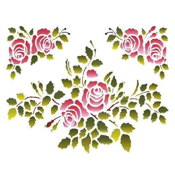 """Stamperia Schablone """"Rose"""" online kaufen"""