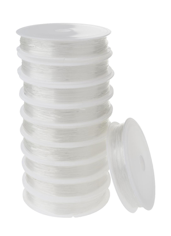 VBS Großhandelspackung 10 Magic Stretch Gummikordeln 0,8 mm