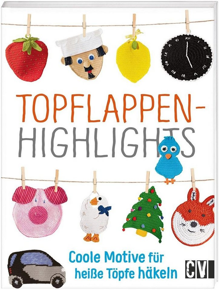 """Buch """"Topflappen-Highlights"""" 32 Seiten kaufen"""