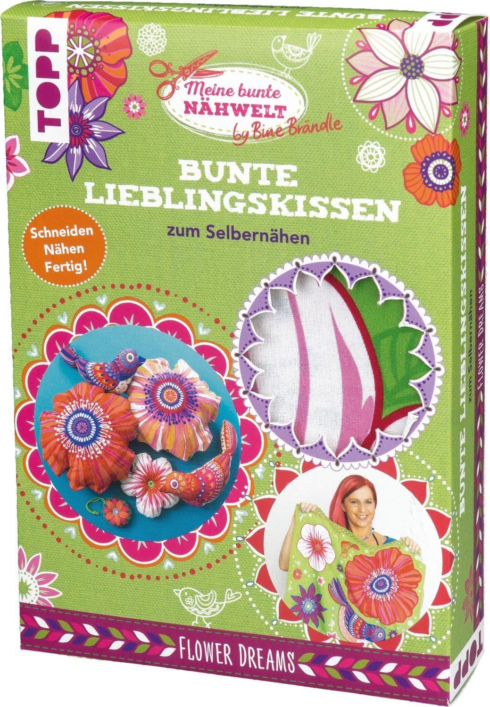 """Topp Nähset Bunte Lieblingskissen """"Flower Dreams"""""""