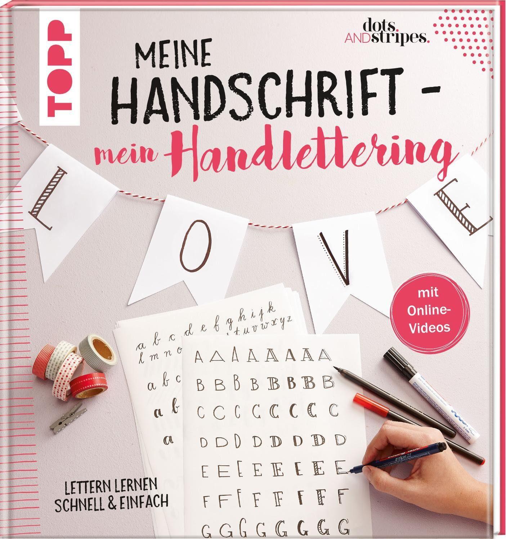 """Topp Buch """"Meine Handschrift -mein Handlettering"""" 96 Seiten"""