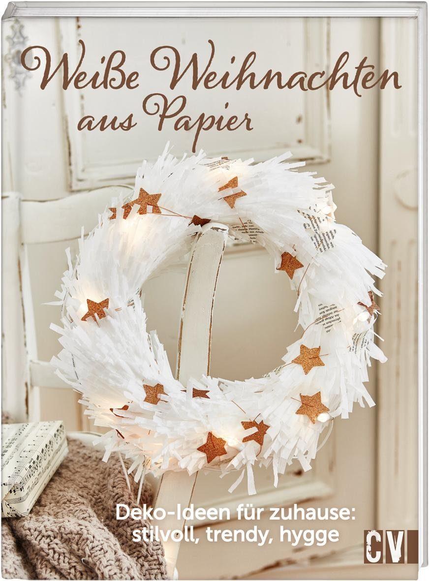 """Buch """"Weiße Weihnachten aus Papier"""" 80 Seiten"""