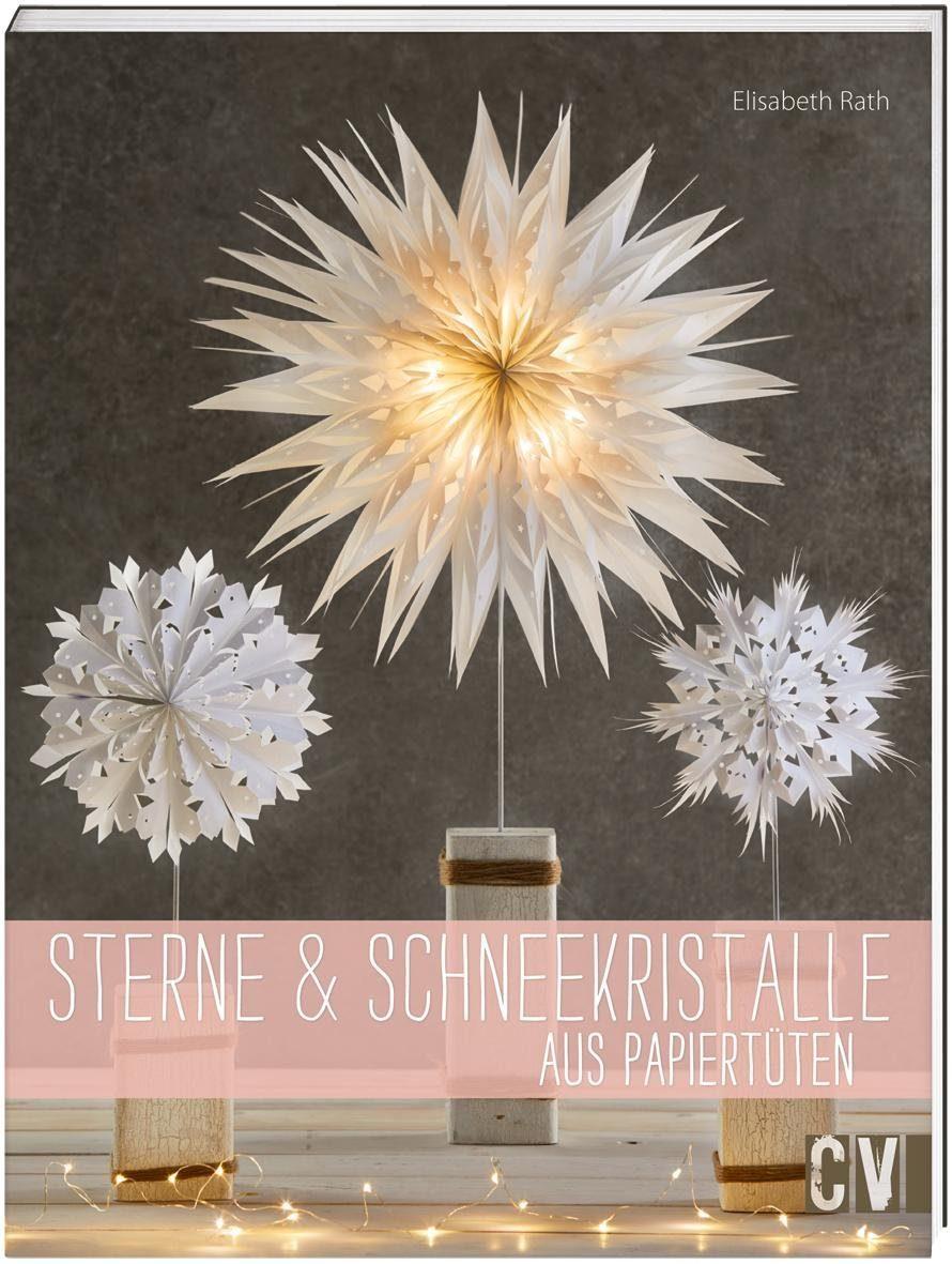 """Buch """"Sterne & Schneekristalle aus Papiertüten"""" 48 Seiten"""