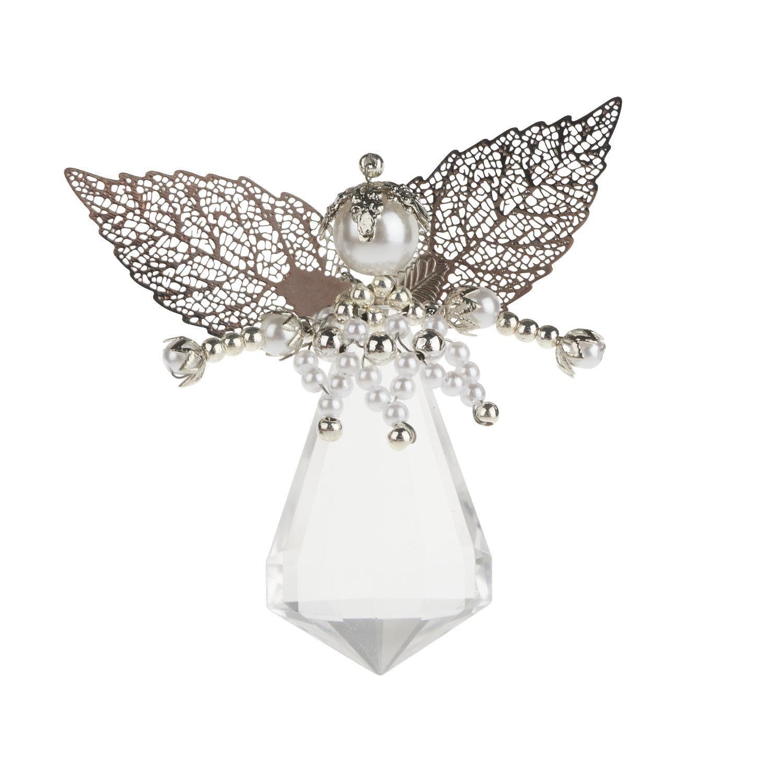 "Bastelset Perlenengel ""Spitzen-Engel"" 6 cm x 5,5 cm groß"