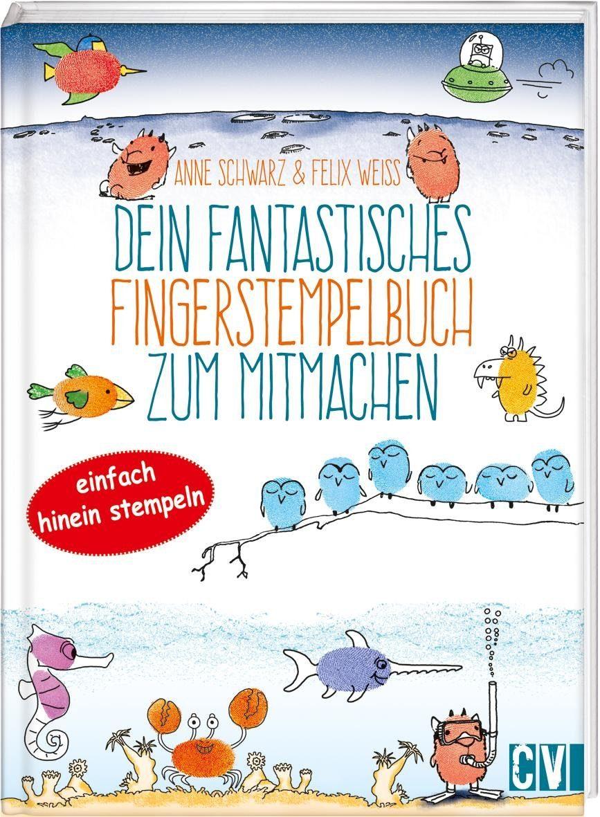 """Buch """"Dein fantastisches Fingerstempelbuch zum Mitmachen"""" 64 S."""