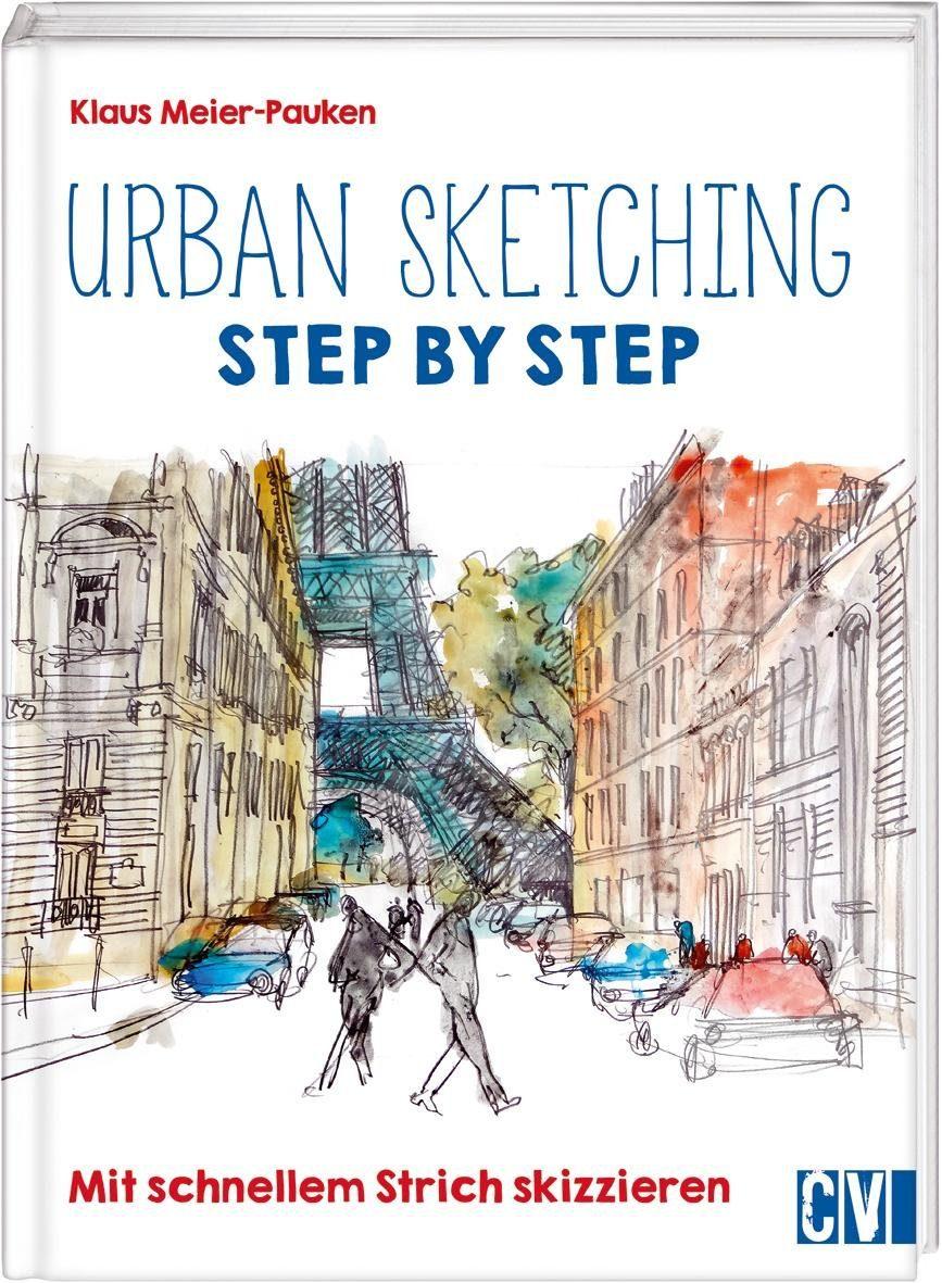 """Buch """"Urban Sketching Step by Step"""" 96 Seiten"""