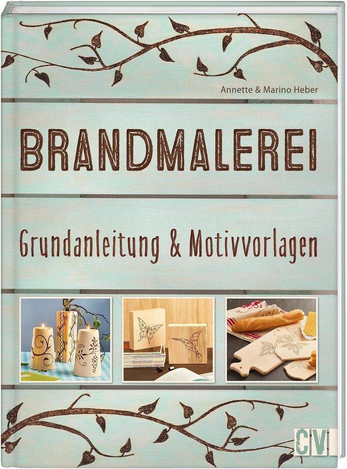"""Buch """"Brandmalerei Grundanleitung & Motivvorlagen"""" 80 Seiten online kaufen"""