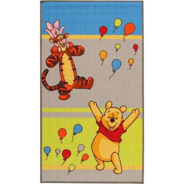Kinderteppich Winnie Puuh und Freunde, Ballons, 80 x 140 cm | Kinderzimmer > Textilien für Kinder > Kinderteppiche | Bunt | OTTO