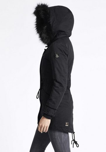 Khujo Parka Freja With Inner Jacket, With Removable Sweat Substance Use