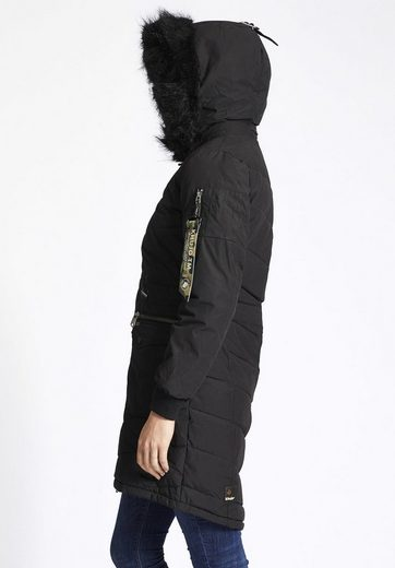 Khujo Quilted Jacket Luana, With Detachable Hood