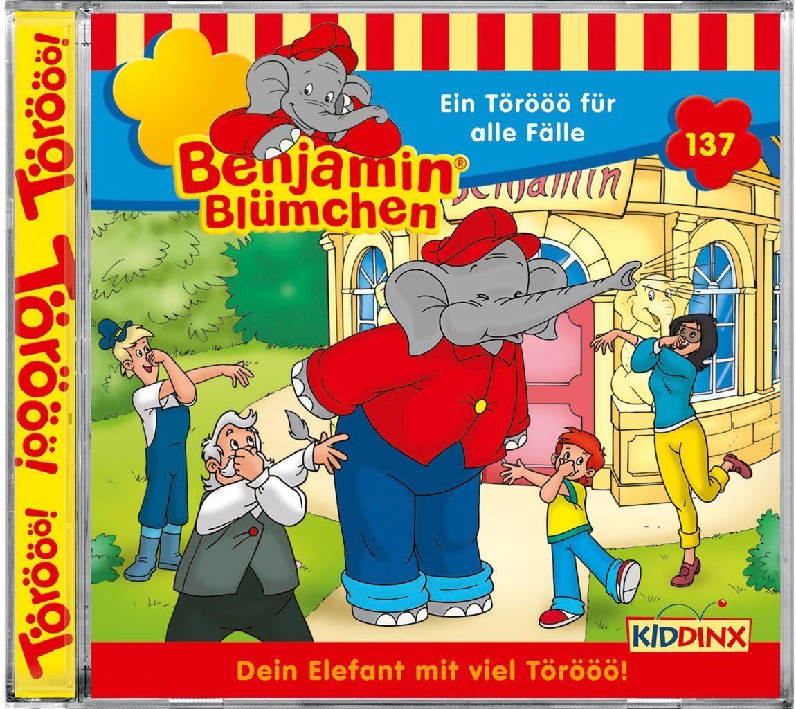 Kiddinx Hörbücher CD »Benjamin Blümchen - Ein Törööö für alle Fälle(137)«