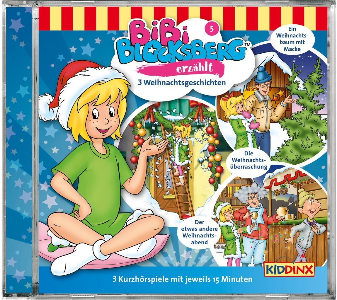 Kiddinx Hörbücher CD »Bibi Blocksberg erzählt... Folge 5: Weihnachtsgesc«