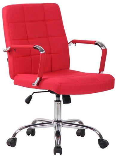 CLP Schreibtischstuhl »Deli PRO Stoff«, höhenverstellbar und drehbar
