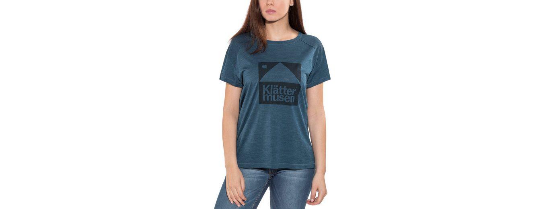 Klättermusen T-Shirt Eir S/S Shirt Women Rabatt Shop-Angebot eb469On
