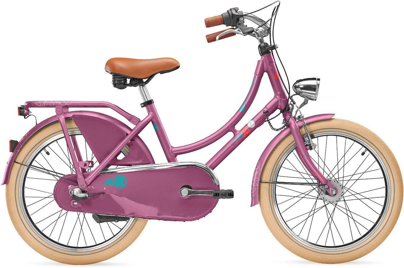 S'COOL Kinderrad »chiX classic 20 3-S«