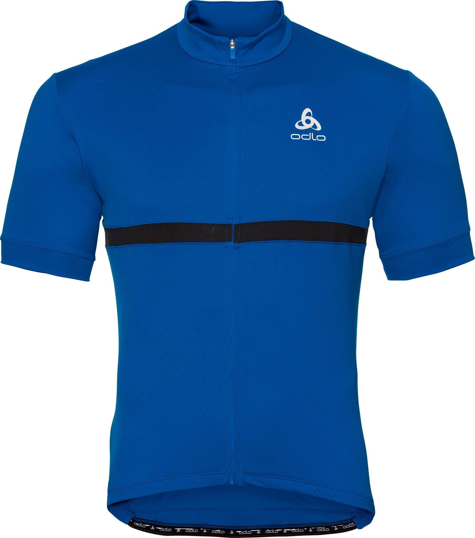 Odlo T-Shirt »Fujin Stand-Up Collar SS Full Zip Shirt Men«
