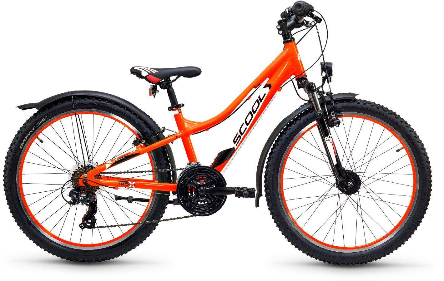S'COOL Kinderrad »troX urban 24 21-S«