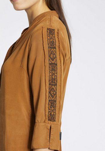 khujo Blusenkleid ANTONELLA, mit Perlenapplikationen an den Ärmeln