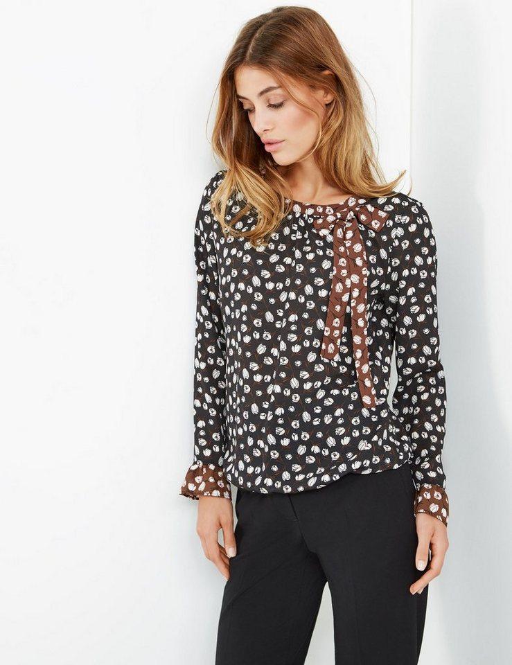taifun bluse langarm blusenshirt mit blumen print online kaufen otto. Black Bedroom Furniture Sets. Home Design Ideas