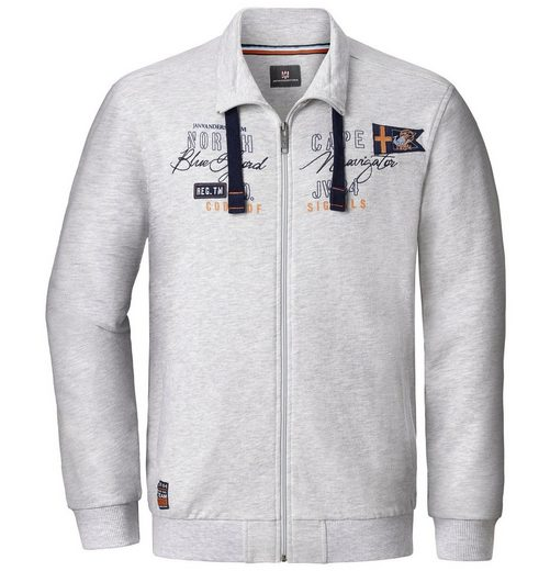 Jan Vanderstorm Sweatjacke IRMFRIED