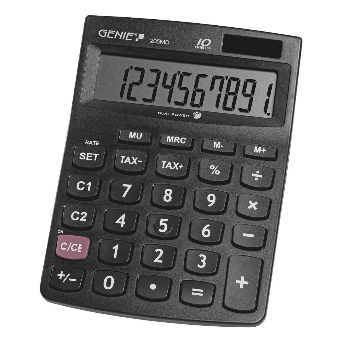 GENIE Tischrechner »205MD«