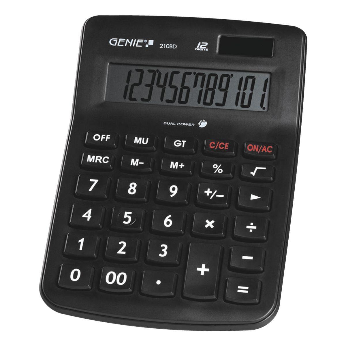 GENIE Tischrechner »210BD«