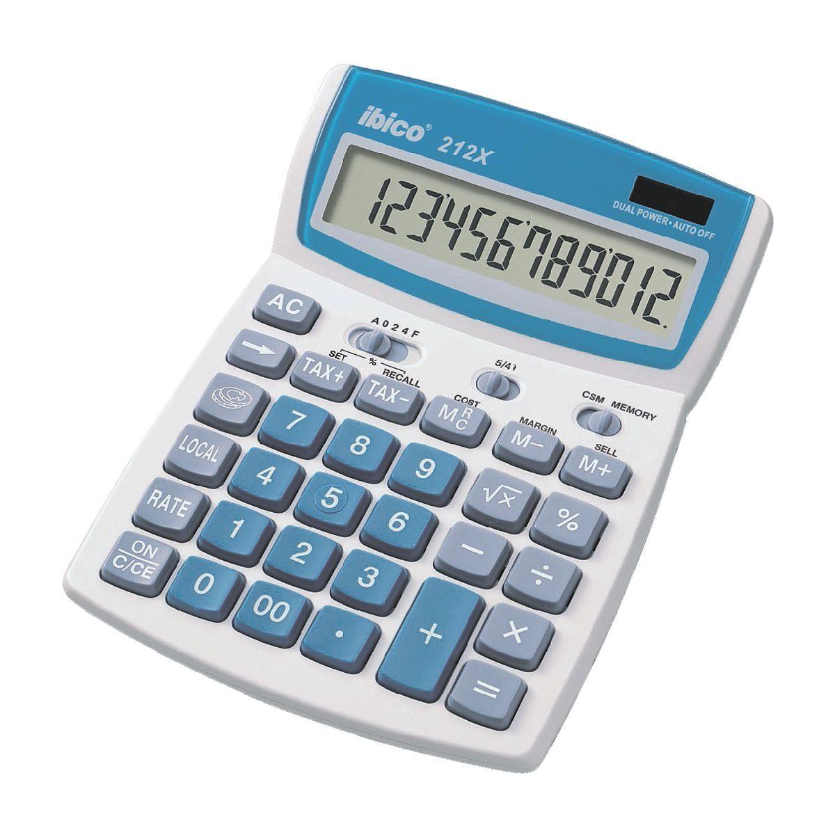Ibico Tischrechner »212X«