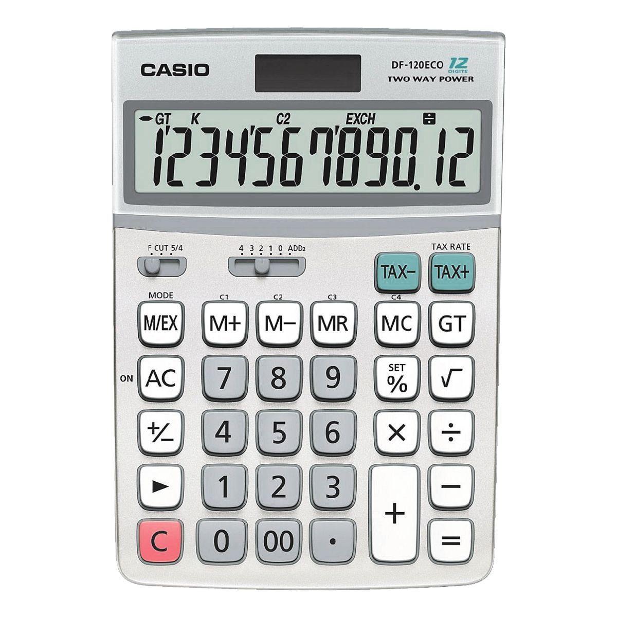 CASIO Taschenrechner »DF-120eco«