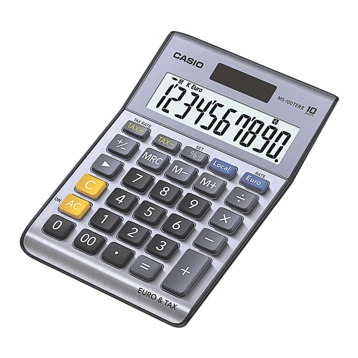CASIO Tischrechner »MS-100TERII«